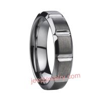 Cutting type tungsten ring /tungsten steel ring which can be custom-made has male, female and couple