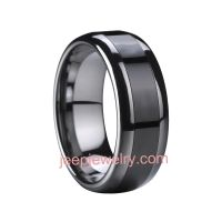 New type of tungsten and space porcelain ring/black restoring ring