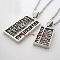 Fashion wishful thinking couple necklace female tide people titanium steel accessories male