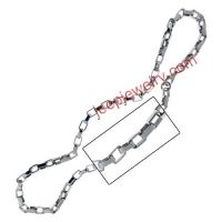 A 21-inch necklace composed of many reflection boxes with 6.1mm in width