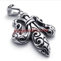 Die casting 316 l stainless steel pendant tide restoring ancient ways of man steel pendant