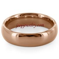 Wholesale gold Tungsten Carbide ring Traditional comfort fit