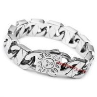 Jewelry MEN Silver 316l Stainless Steel BIG Heavy Bracelet Link Chain