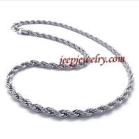 stainless steel serratula short necklace