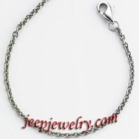 2.2mm Open Box Stainless Steel Chain Necklace