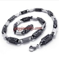 antique stainless steel necklace for men