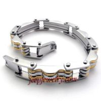 fashion stainless steel bracelet for couple