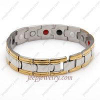 The color gems inlaid bracelet