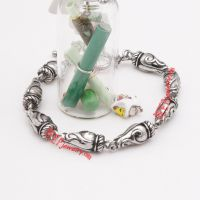 classical 316L casting stainless steel beads with special pattern bracelet