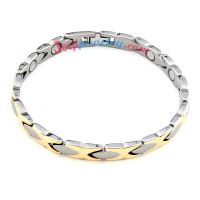 Cool stainless steel snake skin pattern bracelet
