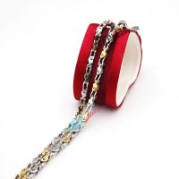 polishing mechanical fashion stainless steel necklace