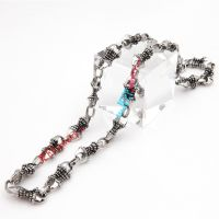 Gothic style restoring ancient ways necklace