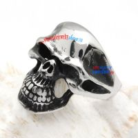 Death Devil Skull Stainless Steel Jewelry Care