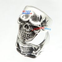 Hollow Brow Skull Does Stainless Steel Jewelry