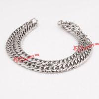 Unique serial classical stainless steel necklace
