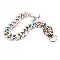 Stainless Steel Silver Monster Bracelet Wholesale Jewelry
