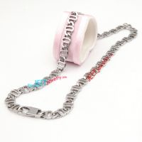 The wholesale A letter new stainless steel necklace