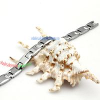 Simple Hot Sale Tungsten Bracelets for Men with Energy Magnetic Stones