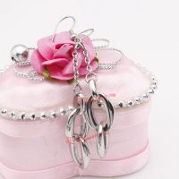 Gorgeous buckle stainless steel earrings