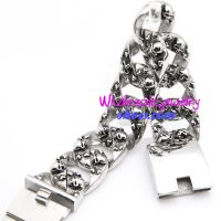New Era Fashion Special Design Cool stainless steel Skulls Stainless Steel Bracelets Charm