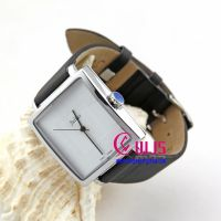 Unisex square black watch strap quality watch, couple watches wholesale for only one piece