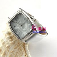 stylish feminine white watch HOT SALE watch for lady, square watch dial watch with shiny crystals
