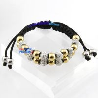 Sweety ladies style costume fashion jewelry wholesale beads stretch rope bracelets