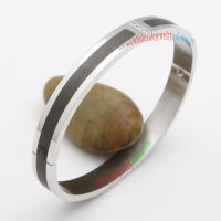 Stylish fancy black river bangles on sale