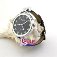 watch Special watch for women Black leather watchch 2013