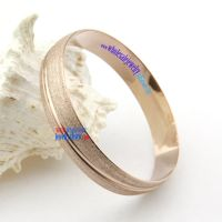 Fashionable Light Brown Bangle with Golden Edge On The Side Costume Jewelry Wholesale