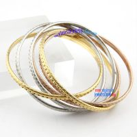 Colorful bangles with fashion and novel hoop design fashion jewelry