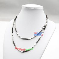 The perfect Legend design of Top luxury stainless steel figaro necklace