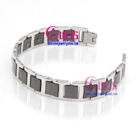 Europen and American jeans fashion stainless steel and tungsten bracelet