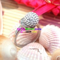The Ring with the Crystal and Diamond, Looks like the Budding Flowers and Mushroom