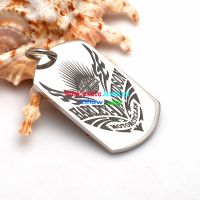 New Fashion high quality Harley Davidson Badge Design cheap Stainless Steel Pendant