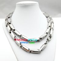 Classical style Silver Three-Dimensional Candy Design of Men Stainless Steel Charm Bracelet