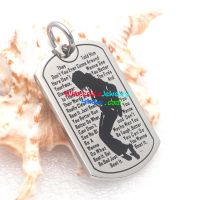 A valuable pendant is valuable because of its worthily valuable design and slogan