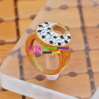 love , promise between the fingers; fingers rift, twisted in the love stone ring stainless steel