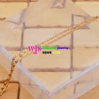The Unique and Special Necklace with the Golden Color pendant chain necklace