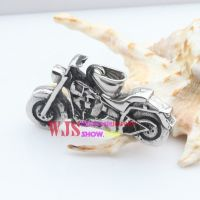 Stainless steel cool motor cycle show you around to everywhere lovely metal pendant