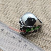 Funny skeleton shape ring made of stainless steel