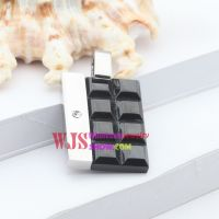 The little and dainty style of special square pendant for men