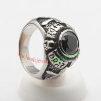 Cool and classic ring made of stainless steel