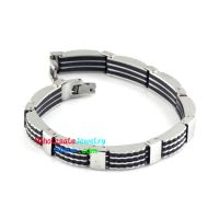 2014 New fashion style stainless steel bracelet bicycle chain type simple classic bracelet wear-resistant bracelet