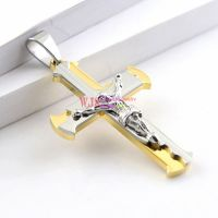 repesent your dignity plating golden and silver and honor Jesus pendants necklaces individuation for jewelry making seductively holy for man and women