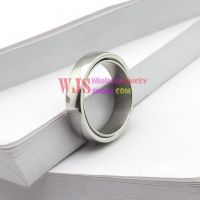 2014 Solid sliver Color simple elegant classic ring stainless steel 316L anti-rust ring