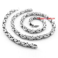 Special shape of choker and bracelet made of stainless steel