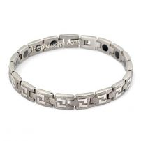 Titanium steel first jewelry fashion bracelets non-mainstream fatigue germanium ion man bracelet