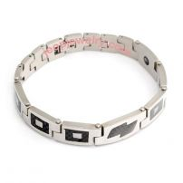Titanium steel jewelry fashion bracelets non-mainstream fatigue germanium ion man bracelet male brac