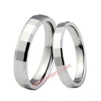 Tungsten gold contracted ring, fashion ring, the moist person JieZi, tungsten gold buddhist monastic